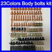 Wholesale cbr plastics - Fairing bolts full screw kit For HONDA CBR893RR 94 95 96 97 CBR900RR CBR 893 RR 1994 1995 1996 1997 Body Nuts screws nut bolt kit 233Colors