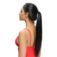 imagens de front lace wig venda por atacado-Quanlity alta reta cabelo sintético peruca dianteira do laço parte livre imagem actural barato perucas para as mulheres perucas cabelo do bebê off preto FZP25