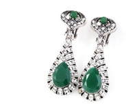 Wholesale knot earings for sale - Group buy chaming Crystal more color Ancient Bohemia lady s earings cm defe
