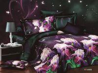 Wholesale Cotton Reactive Bedding Set - U&H Cheap 3D Hot!Reactive printed 3d oil painting bed set bedding set linen cotton queen size bedclothes duvet cover