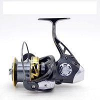 eva räder groihandel-NV8000-10000 Typ Alle Metall Drahtschale Gapless Sea fishing Entferntes Rad EVA-Kugelgriff Metall-Basis