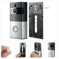 Wholesale door bell camera intercom for sale - M1 M3 Wifi Video Doorbell Wireless Intercom Night Vision Door Phone Ring Bell Camera For P MP HD Apartments PIR Alarm Security PC