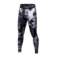 Wholesale tight sexy yoga pants for sale - Brand Running Tights Men Sports Leggings Sportswear Long Trousers Yoga Pants Winter Fitness Compression Sexy Gym Slim