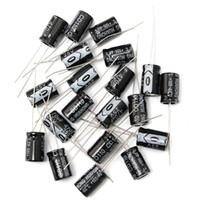 kits de condensadores al por mayor-La mejor promoción 20PCS 470UF 25V Kit de surtido de condensadores electrolíticos Set 8x12mm