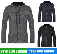 Wholesale camo sweaters - NEW UA jogging clothes Running Style Man Long Sleeves Hoodies Sweatshirts Trendy Hip Hop Sport Sweater Coat JACKET CAMO camouflaged