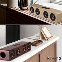 bluetooth bester preis großhandel-Bester Preis drahtloser Bluetooth Haupttheater-Baß-Soundbar-Lautsprecher mit 3.5mm Audio für Telefon intelligentes Fernsehen