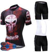 mtb kısa jel toptan satış-Pinisher UCI Takım Bisiklet Jersey 9D JEL PED Bisiklet Şort Set MTB Erkek Yaz Ropa Ciclismo Bisiklet Giyim Pro BISIKLET Maillot Culotte