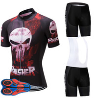 ingrosso jersey uci-Pinisher UCI Team Cycling Jersey 9D GEL PAD Bike Shorts Set MTB Uomo Summer Ropa Ciclismo Cycling Wear Pro BICICLETTA Maillot Culotte