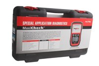escáner de código srs al por mayor-Autel MaxiCheck Pro OBD2 Herramienta de escáner de código Reajuste de aceite Escanear Airbag EPB ABS SRS SAS Actualizar Internet