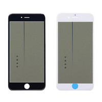 4 in 1 Cold Press Front Glass Frame Pre Applied OCA Polarizer Assembly For Iphone 5s 6 6s plus 7 plus 8 Plus