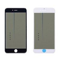 iphone 6s oca toptan satış-4 in 1 Soğuk Pres Ön Cam Çerçeve Ön Uygulamalı OCA Polarize Meclisi Iphone 5 s 6 6 s artı 7 artı 8 Artı