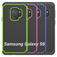 Wholesale hybrid football for sale - Group buy For Samsung S9 Plus Case Football Heavy Duty Tough Hybrid Rubber Silicone TPU Case Cover for Samsung S9 S9 plus