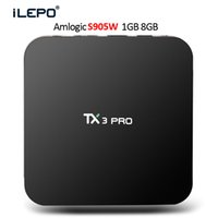Wholesale tv media streaming for sale - Group buy Android tv box Quad Core TX3 PRO S905W TV BOX Support G Wi Fi K HD video D movies Streaming Media Player
