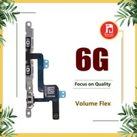 Wholesale oem connector - OEM Volume Button Control Connector Flex Cable For iPhone 6 4.7 Mute Lock Switch Bottons Mic Silent Ribbon Replacement Replace Spare Parts