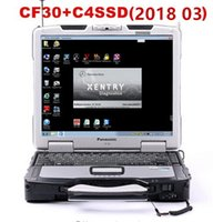 Wholesale laptops lowest price online - Lowest Price Toughbook Panasonic CF30 G laptop with DTS Monaco8 Vediamo Xentry DAS EPC installed HDD SSD for MB Star C4