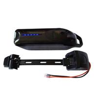 Wholesale battery ebike resale online - V shark electric lithium battery V ah down tube ebike battery with A BMS and V USB Port