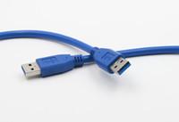 conector de disco duro portátil al por mayor-Cable de conector de transferencia de datos USB 3.0 macho a macho para altavoz de coche para disco duro para portátil, etc.