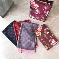 foulards pour homme en gros achat en gros de-Marque hommes Cachemire haut de gamme écharpes en cachemire mode écharpe douce hommes et femmes accessoires de luxe écharpes en cachemire en gros