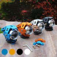 faro transformador de la motocicleta al por mayor-Los nuevos faros de motocicleta eléctrica Foco LED U5 Transformers Luz láser Linterna súper brillante foco, Instalación fácil
