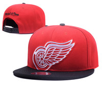 Wholesale Back Wings - 2018 new style Red Adjustable wings Snapback Hat Thousands Snap Back Hat For Men Basketball Cap Cheap Hat Adjustable men women Baseball Cap