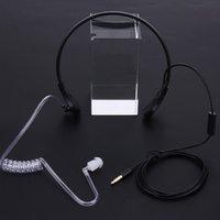 iphone mobile schlauch großhandel-Hals-Mikrofon-Kopfhörer-Hörmuschel-Qualitäts-verborgenes akustisches Schlauch-Hörmuschel-Kopfhörer für iPhone HTC androides Universalhandy