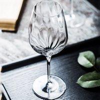 beyaz cam kadehler toptan satış-Kristal gözlük kırmızı şarap cam bardak Avrupa çok fonksiyonlu kadeh beyaz şarap cam bardak kokteyl Şampanya ev drinkware