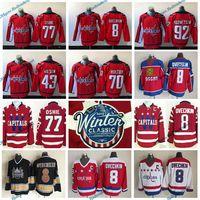 Wholesale Winter Xl - 2015 Winter Classic Washington Capitals 8 Alex Ovechkin 77 TJ Oshie 92 Evgeny Kuznetsov Nicklas Backstrom Holtby Tom Wilson Hockey Jerseys