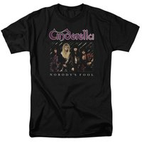 cinderella xl UK - Cinderella Rock Band NOBODY'S FOOL Licensed Adult T-Shirt All Sizes 2018 New 100% Cotton T-Shirts Men Unisex More Size