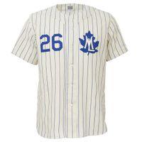 ingrosso case d'acero-Personalizzabile. Toronto Maple Leafs 1960 Home Jersey Double Stiched Nome Numero Logos Baseball Jersey per uomo donna gioventù personalizzabile