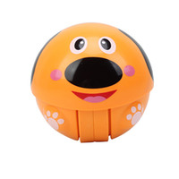 Wholesale baby toys online - Animal Ringing Baby Early Education Intelligence Toy Inertia Skidding Pulley Ball Learn To Climb Developmental Tumbler Gift For Kid yp W