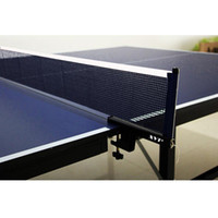 tablas de red al por mayor-Alta calidad XVT Professional Metal Table Tennis Table Net Post Ping pong Table net Envío gratis