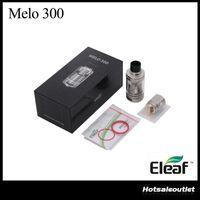 eleaf sub ohm tank al por mayor-Eleaf MELO 300 Sub Ohm Tank Melo 3 Atomizador - A con capacidad de 6.5ml Melo 3 Atomizer - B con 3.5ml ES Sextuple-0.17ohm Head