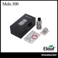 eleaf sub großhandel-Eleaf MELO 300 Sub-Ohm-Tank Melo 3 Zerstäuber -A mit 6,5 ml Fassungsvermögen Melo 3 Zerstäuber -B mit 3,5 ml ES Sextuple-0,17 Ohm Kopf