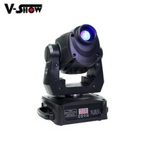 Wholesale mini prisms resale online - New design W Led spot light moving head mini Led Gobo Dj DMX Light Facet prism stage for nightclub wedding events