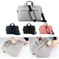 Wholesale 13 14 inch laptops online - Liner bag Shockproof waterproof notebook Briefcase for Macbook ipad air pro inch laptop shoulder bag tablet cases DN010