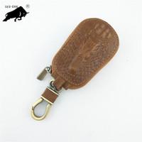 Wholesale lexus key case cover resale online - Leather Car styling Key Cover Case For Lexus NX GS RX IS ES GX LX RC LS H H Auto Accessories