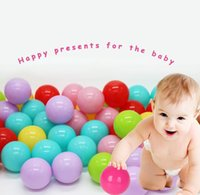Wholesale Inflatable Waving - New Hot Stress Ball Eco-friendly Colorful Soft Plastic Water Pool Ocean Wave Ball Baby Funny Toys Outdoor
