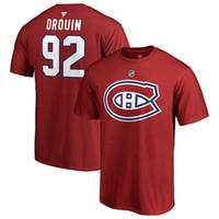 camisa montreal al por mayor-MONTREAL CANADIENS CAMISETAS Precio Weber Drouin Gallagher Alzner Lehkonen Pacioretty nombre personalizado Y número de hockey camisa