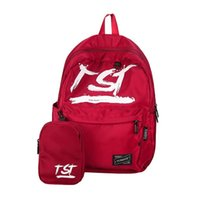 Wholesale Colorful Canvas Backpacks - Fashion Bags Student Pack Backpack Summer New College Wind Junior High School Tide Wild Canvas Colorful Female Individuality Backpacks