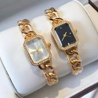 relógios de fivela para mulheres venda por atacado-Relojes De Marca Mujer Novo Top Marca de Moda Mulheres Pulseira Assista Marca de Luxo em aço Inoxidável Senhora Relógio de Pulso Clássico de Jóias de Quartzo fivela