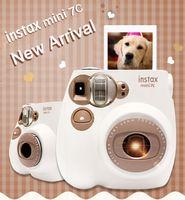 gedruckte kamera großhandel-Neue Genuine Fuji Fujifilm Instax Mini 7C 7 S Kamera Sofortiger Druck Foto Film Schnappschuss Kamera