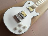 cor mais vendida da guitarra venda por atacado-Alta qualidade Vicers guitarra elétrica, cor branca LP padrão personalizado guitarra elétrica, venda quente de guitarra