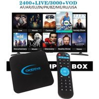 Wholesale Iptv Box Channels - 1year IPTV apk 2000+ Live channels UK DE English French Holland replace royal iptv for android smart tv box arabic QHDlive iptv subscription