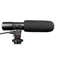 Wholesale handheld digital video camera for sale - MIC mm Studio Digital Video DV Camera Stereo Recording Microphones Back Electret Condenser Clear Vocal Pick Up Drop Ship