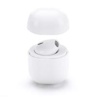 musik fälle für iphone großhandel-Mini IP8 In-Ear-Ohrhörer mit Ladebox Ladekoffer Earbud Bluetooth Wireless 4.2 Stereo-Musik-Kopfhörer für Iphone X IOS Luft Mini-Pods