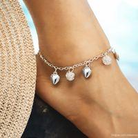 Wholesale casual form - Hollow Out Weave Love Form Bracelet Anklet European Popular Hand Ornaments Fashion Concise Bracelet