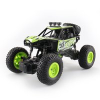 Wholesale rc remote control cars online - 1 RC cars High Speed Fast Race Cars Four wheel Drive Electric Remote Control Off road Vehicles colors C4700