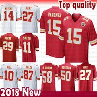 8b5312192 Wholesale football jerseys chiefs - 15 Patrick Mahomes II Kansas City  Chiefs Jersey Tyreek Hill Sammy
