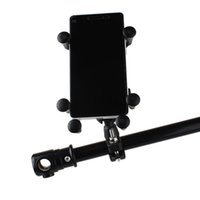 Wholesale phone holder motorcycle iphone for sale – best Universal Bike Bicycle Motorcycle MTB Bike Phone Holder Adjustable Rail Mount Phone Holder For iPhone Samsung Xiaomi Smartphones