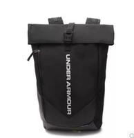 Wholesale womens school shoulder bags - Brand Fashion Womens Mens School Bag Outdoor Sport UA Shoulder Bags Travel Stylish Black Backpack Birthday Gift Travelling bag